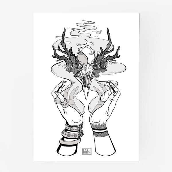Постер «Корона главной Ведьмы (из Дневник Ведьмы, 18-ая серия, 2-ой сезон)»