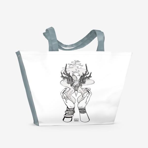 Пляжная сумка «Корона главной Ведьмы (из Дневник Ведьмы, 18-ая серия, 2-ой сезон)»