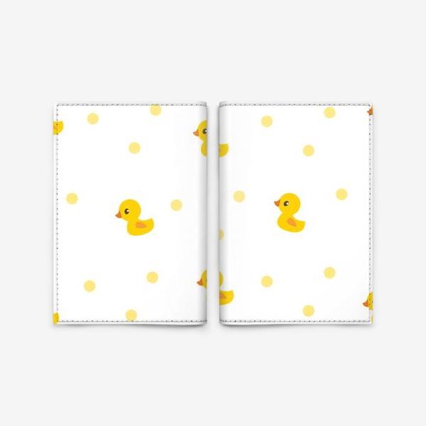 Обложка для паспорта «Милые утятя. Паттерн для малышей»