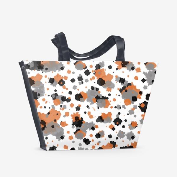 Пляжная сумка «Акварельные пятна»