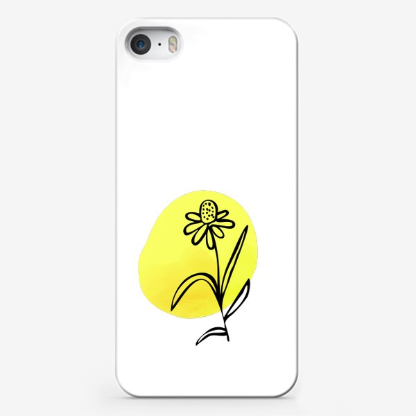 Чехол iPhone «Ромашка. Абстракция»