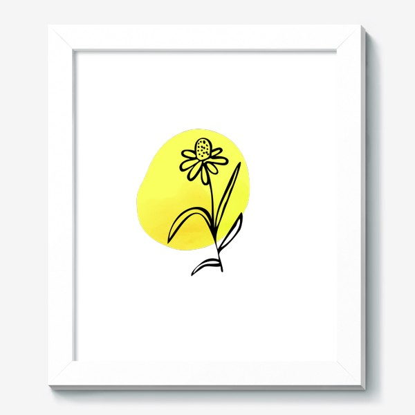 Картина «Ромашка. Абстракция»