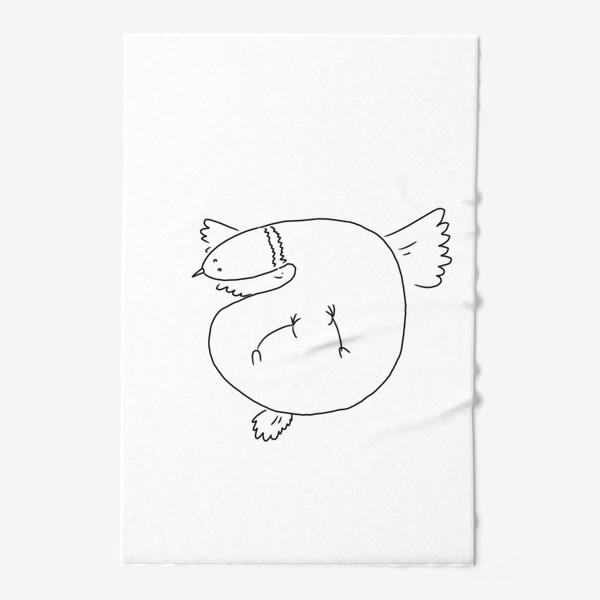 Полотенце «Птица летит»
