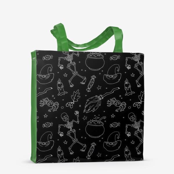 Сумка-шоппер «Магический принт на хэллоуин»