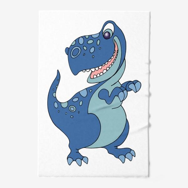 Полотенце «Забавный динозавр.»