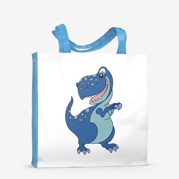 Сумка-шоппер «Забавный динозавр.»