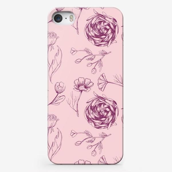 Чехол iPhone «Осенний сад»