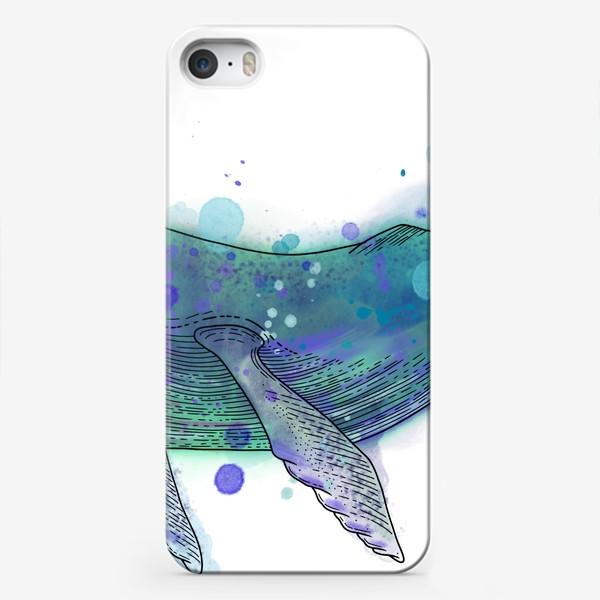 Чехол iPhone «Горбатый кит»