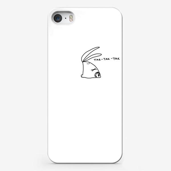 Чехол iPhone «Так-так-так. Заяц размышляет»