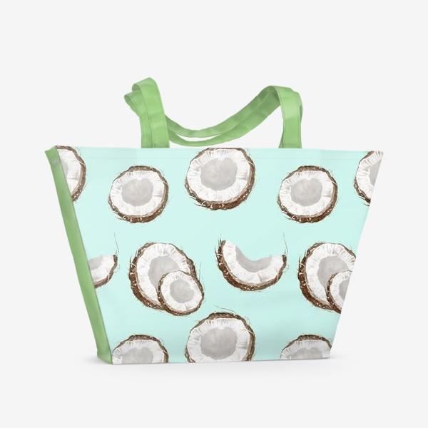 Пляжная сумка «Кокосовый рай»