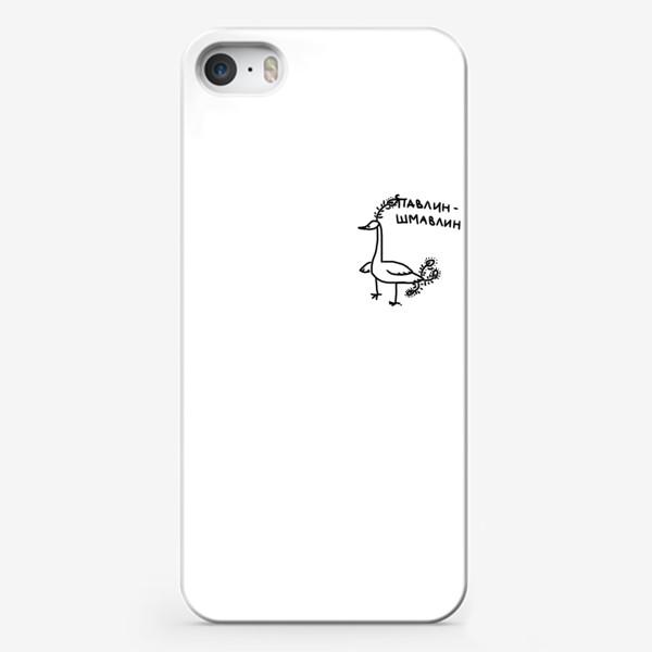 Чехол iPhone «Павлин-шмавлин. Птица такая»