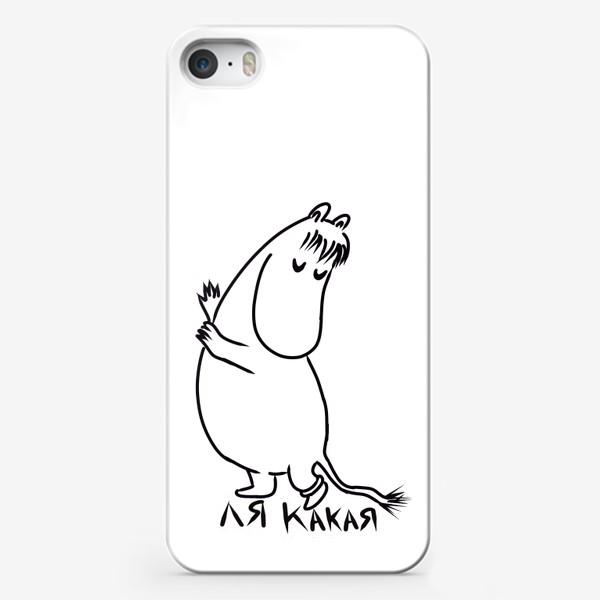 Чехол iPhone «Фрекен Снорк Муми-тролли ля какая»