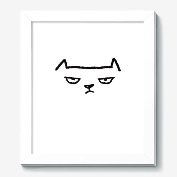 Картина «Кот недовольный»