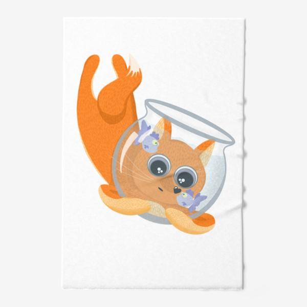Полотенце «Лиса фыр-фыр с аквариумом»