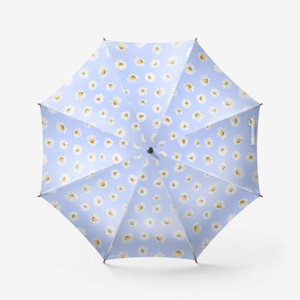 Зонт «Паттерн Ромашки»