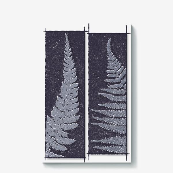 Холст «Two Ferns»