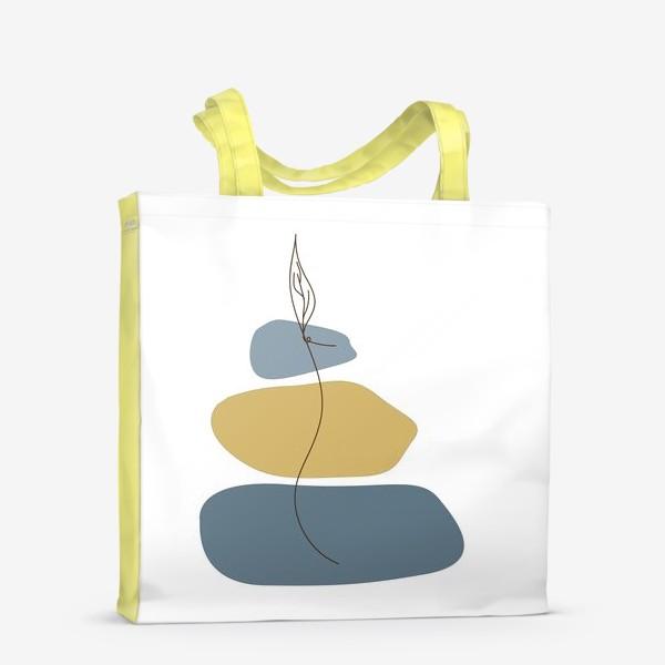 Сумка-шоппер «Пятна и росток»