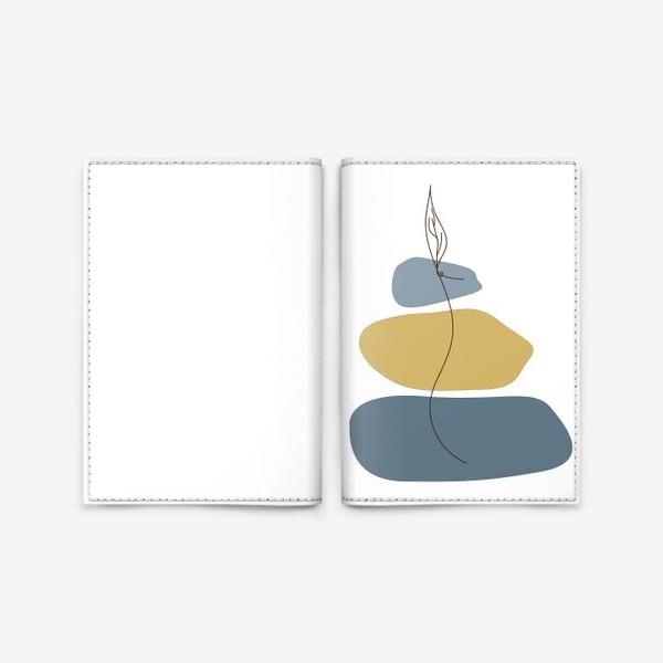 Обложка для паспорта «Пятна и росток»