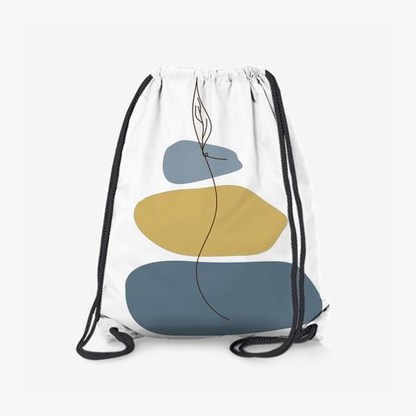 Рюкзак «Пятна и росток»