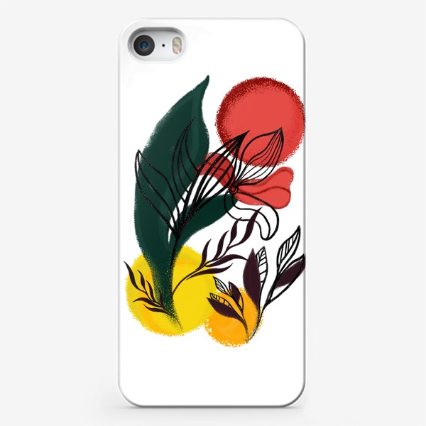 Чехол iPhone «Абстракция. Линии и цвет.»