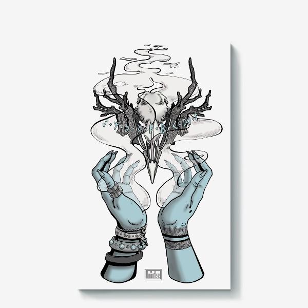 Холст «Корона главной Ведьмы (из Дневник Ведьмы, 18-ая серия, 2-ой сезон) (в цвете)»