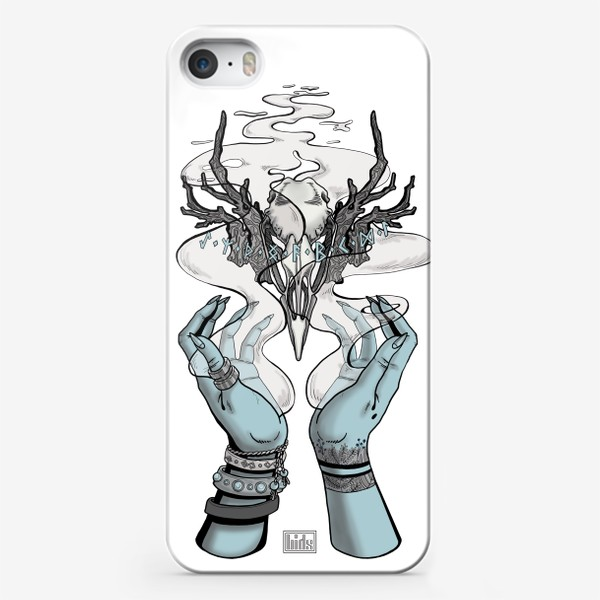 Чехол iPhone «Корона главной Ведьмы (из Дневник Ведьмы, 18-ая серия, 2-ой сезон) (в цвете)»