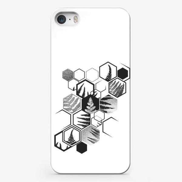 Чехол iPhone «Hexagonal Fern»