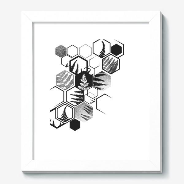 Картина «Hexagonal Fern»
