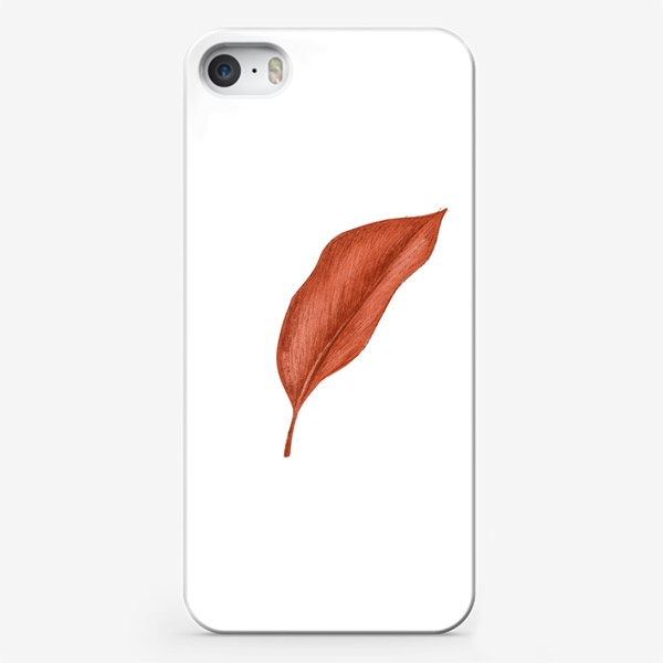 Чехол iPhone «Тропики лист»