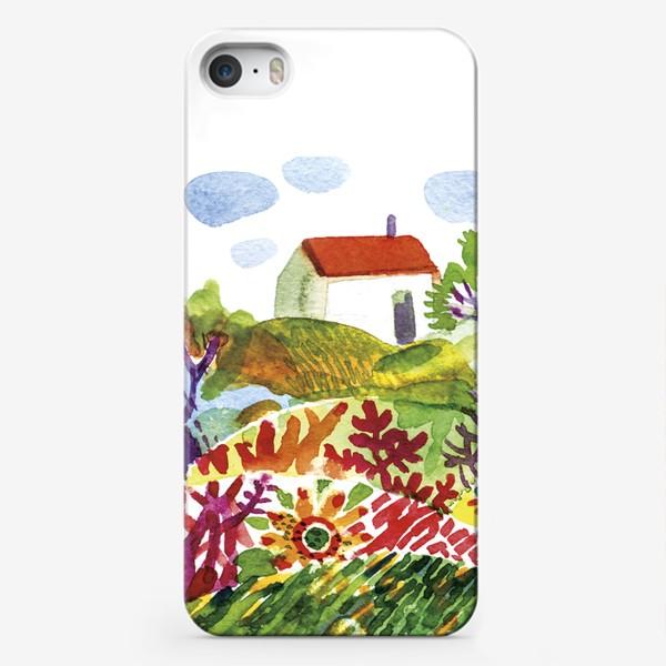 Чехол iPhone «Летний сад»
