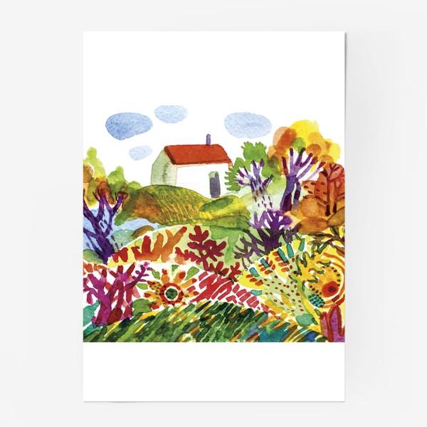 Постер «Летний сад»