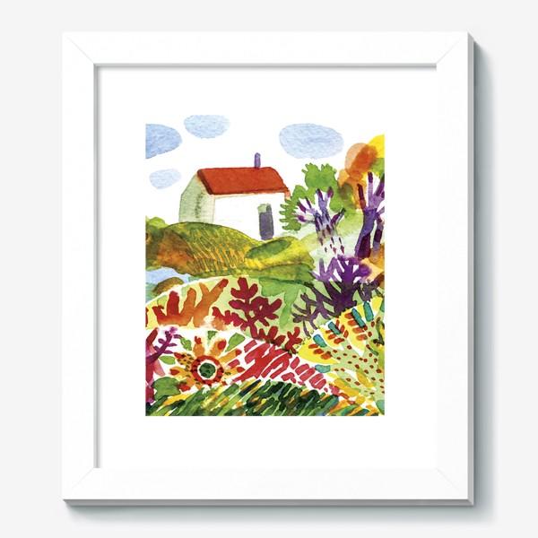 Картина «Летний сад»