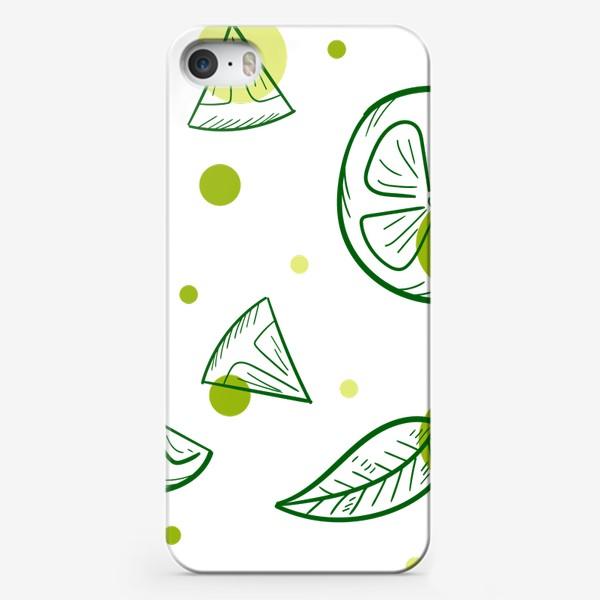 Чехол iPhone «Зеленый чай с бергамотом»