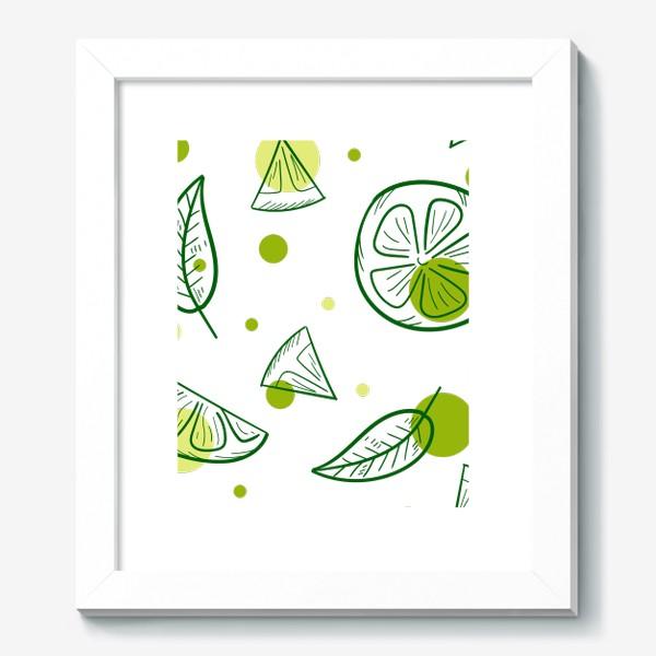 Картина «Зеленый чай с бергамотом»