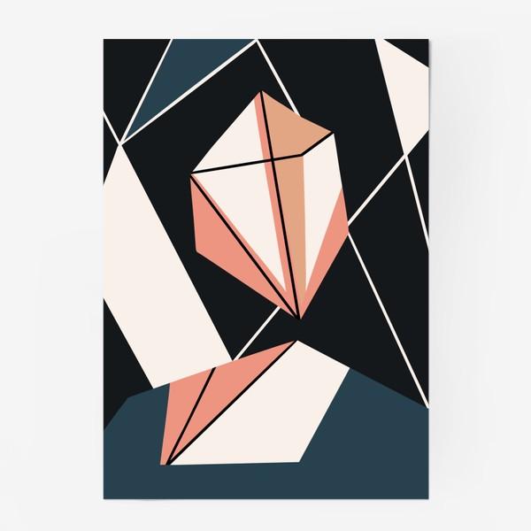 Постер «Абстрактный принт»