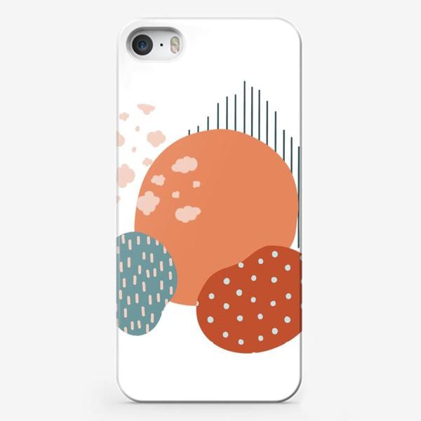 Чехол iPhone «Абстрактные пятна»