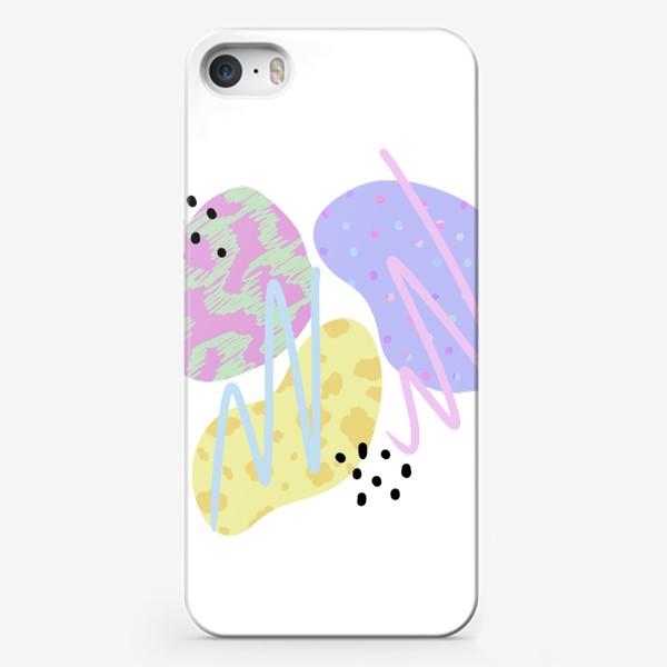 Чехол iPhone «Абстрактные пятна »