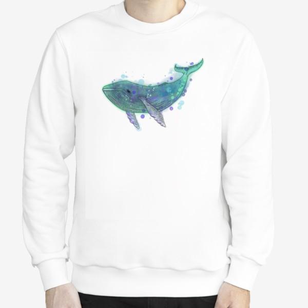 Свитшот «Горбатый кит»