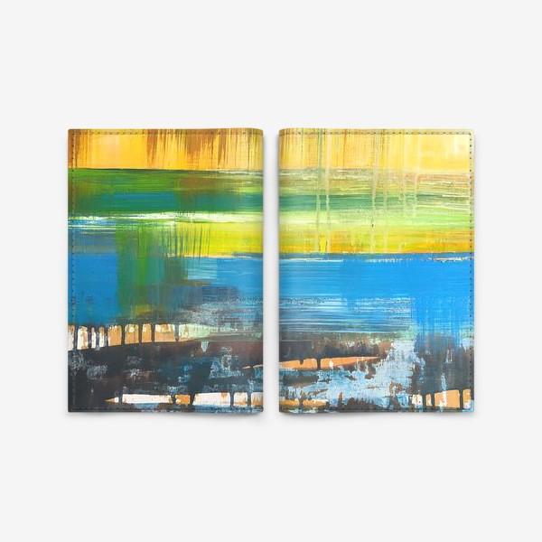Обложка для паспорта «Летний пейзаж»