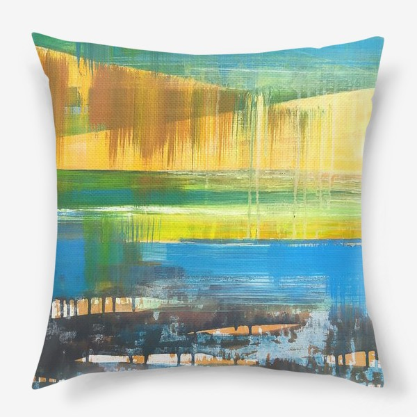 Подушка «Летний пейзаж»