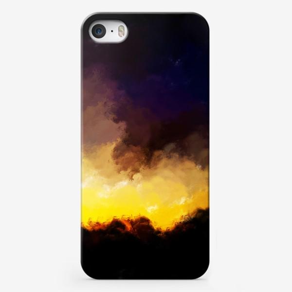"""Чехол iPhone «""""восход в лесу""""»"""