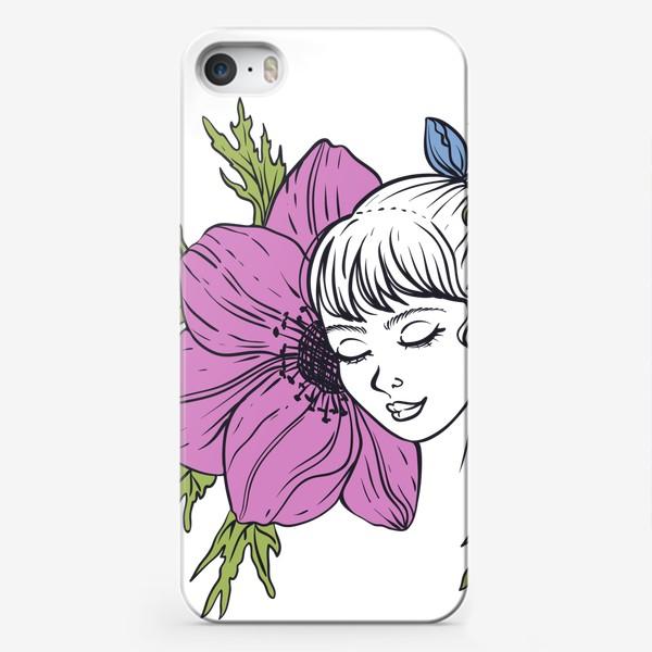 Чехол iPhone «Анемона»
