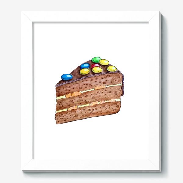 Картина «Тортик с M&M's»