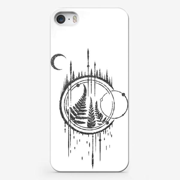 Чехол iPhone «Ferns Arrows»