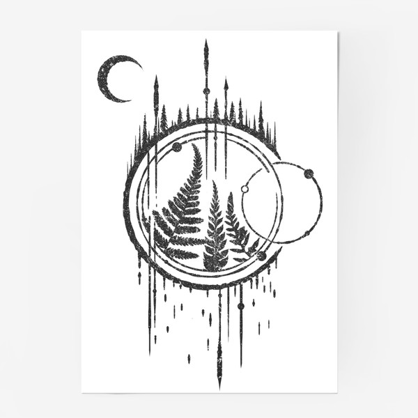 Постер «Ferns Arrows»