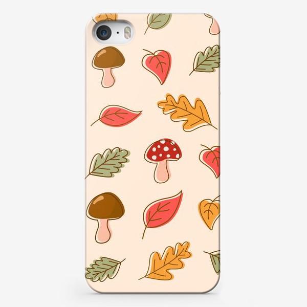 Чехол iPhone «Осенний паттерн»