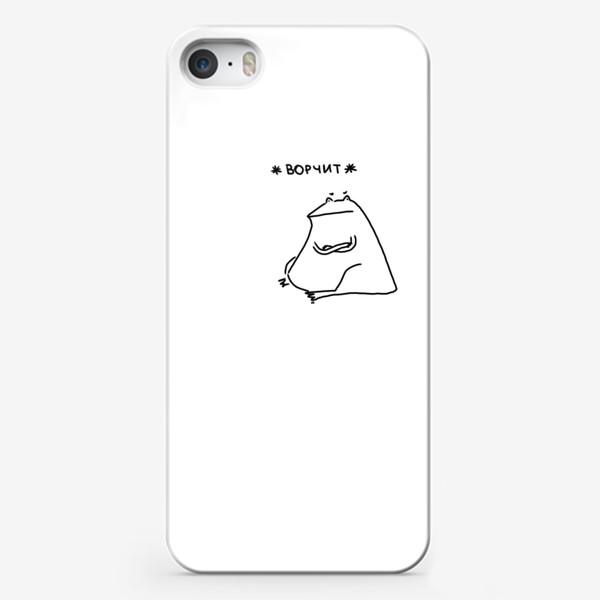 Чехол iPhone «Жаба ворчит »