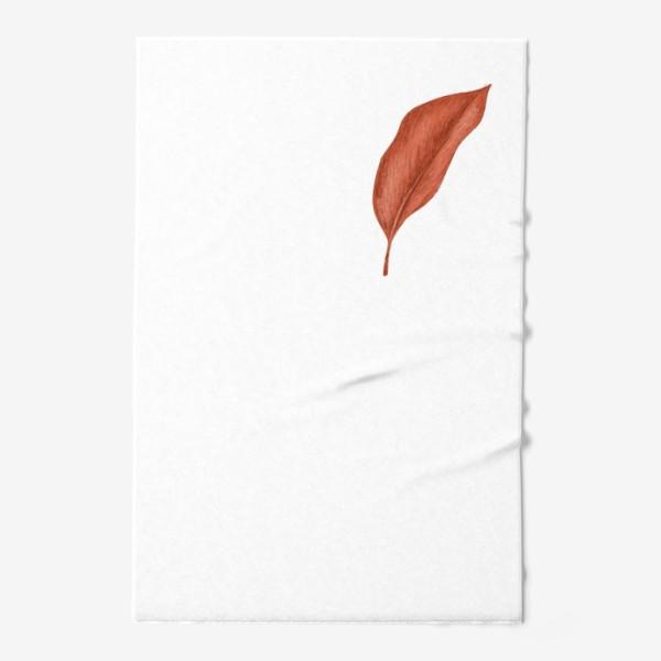Полотенце «Тропики лист»