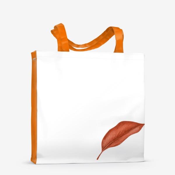 Сумка-шоппер «Тропики лист»