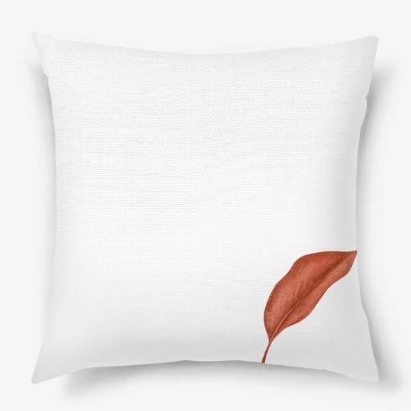 Подушка «Тропики лист»